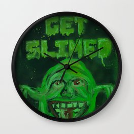 Slimed! Wall Clock