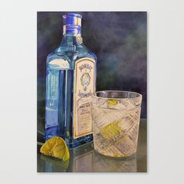 Better With Lime Canvas Print