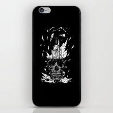 Broken Bulb Skull iPhone & iPod Skin