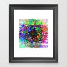 Kicking around to kick it around, or it abounding. [RGB] Framed Art Print