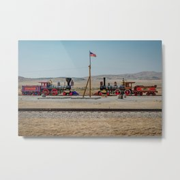 Golden Spike Meeting of Railroads National Historic Site Utah Metal Print