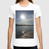lake T-shirts featuring Lake by Lalateesa