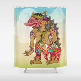 Kumbakarna character in Ramayana story Shower Curtain