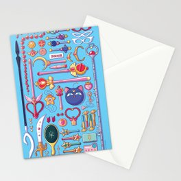 Magical Arsenal Blue Stationery Cards
