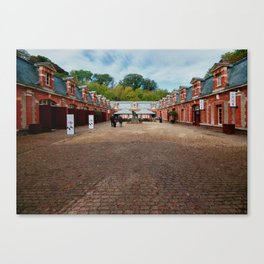 Waddesdon Manor Stables Canvas Print