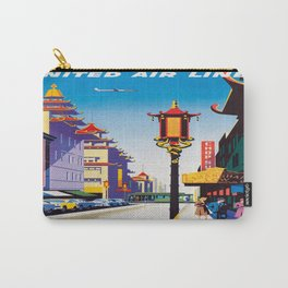 Vintage poster - San Francisco Carry-All Pouch