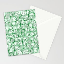 The grass is greener Stationery Cards