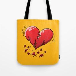 Extreme Heartquake Tote Bag