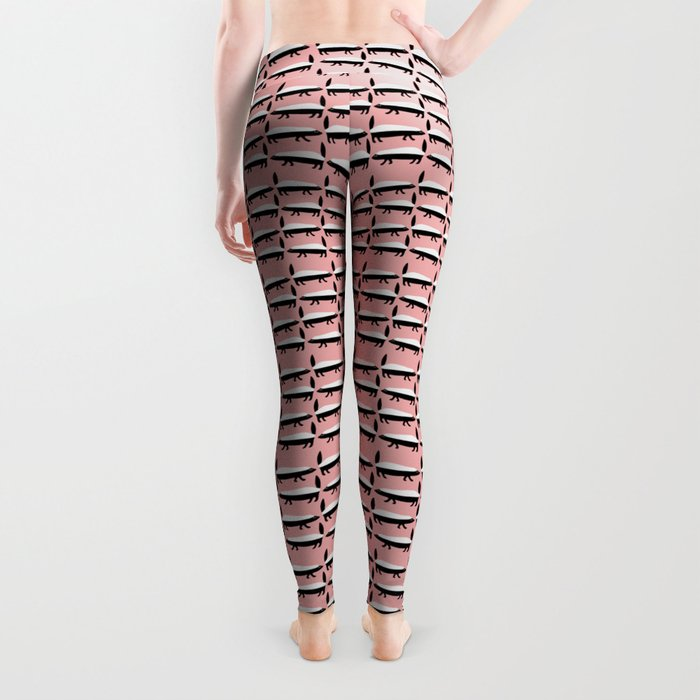 The Honey Badger Parade Leggings