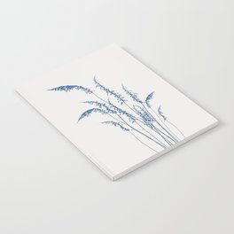 Blue flowers 2 Notebook