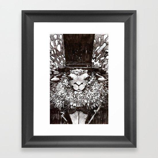 Woolliam Framed Art Print