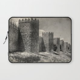 Avila town wall Laptop Sleeve