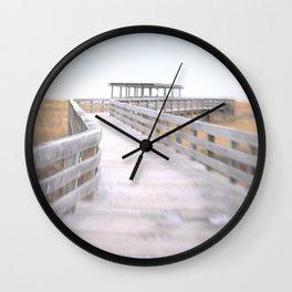 To The Beach Wall Clock
