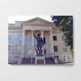 Harlan County, KY Courthouse Metal Print