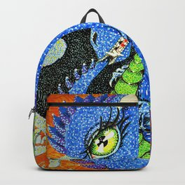 baby sparkle dragon Backpack