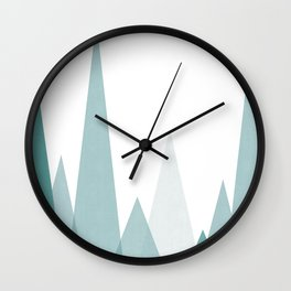 Minimalist winter Wall Clock