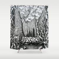 "captain silva Shower Curtains featuring ""pristina silva"" by cistus skamberji"