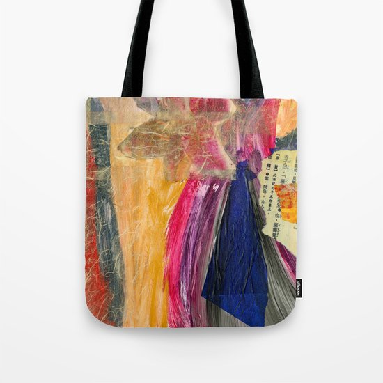 Collage Love - Asian Tie Tote Bag