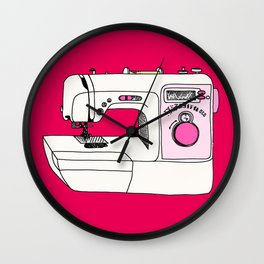 My Sewing Machine Wall Clock