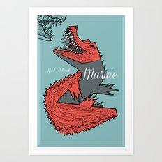 Marnie Art Print