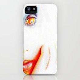 Pale iPhone Case