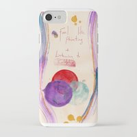 coldplay iPhone & iPod Cases featuring Painting & Coldplay by Hector Pahaut