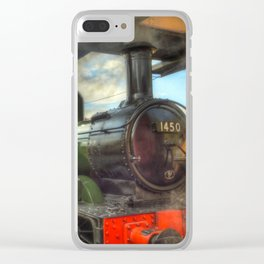 Steam Train 1450 Clear iPhone Case
