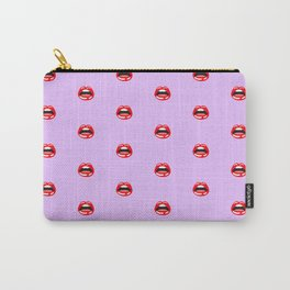 SEXY LIPS ((lilac)) Carry-All Pouch