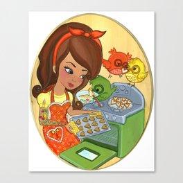Sugar Chirps Canvas Print