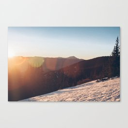 ELBERT ASCENT 02 Canvas Print