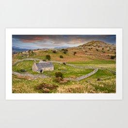 St Celynnin Church Wales Art Print