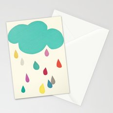 Sunshine and Showers Stationery Cards