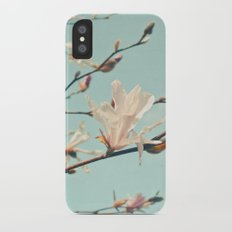 Paper Petals iPhone X Slim Case