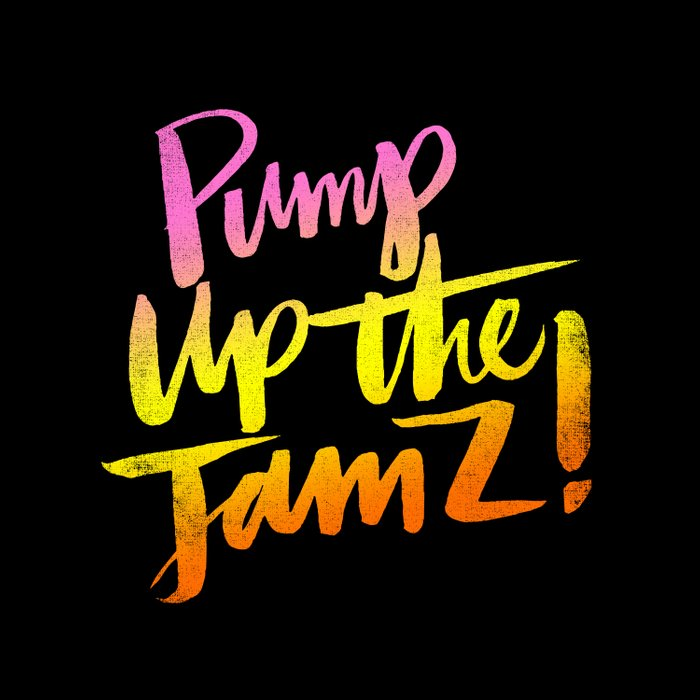 PUMP UP THE JAMZ Duvet Cover