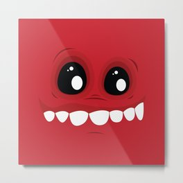 Psychos - Crazy Monsters (RED) Metal Print