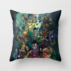 Lil' Super Friends Throw Pillow