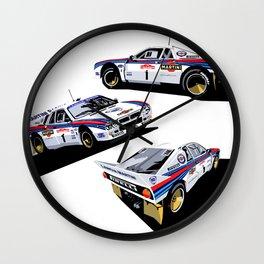Lancia 037 Wall Clock