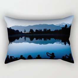 Time for a photograph? - A New Zealand Mountain View Rectangular Pillow