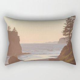 Ruby Beach Washington Sunset Pacific Ocean Coastal Landscape Northwest Explore Adventure Travel Outdoors Rectangular Pillow