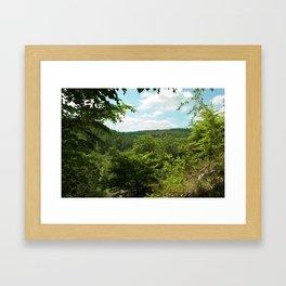 The Forest of Dean Framed Art Print