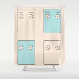 Larry Butz' shirt - Phoenix Wright Shower Curtain