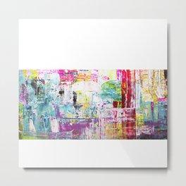 Neon 2 Metal Print