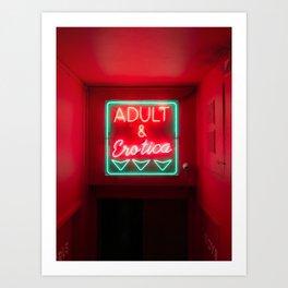 Neon Love Art Print