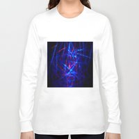 northern lights Long Sleeve T-shirts featuring Northern Lights by Cs025