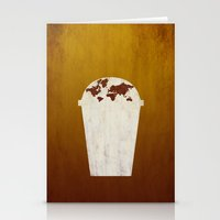coffee Stationery Cards featuring Coffee by gunberk