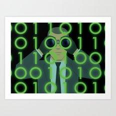 Spy on Me Art Print