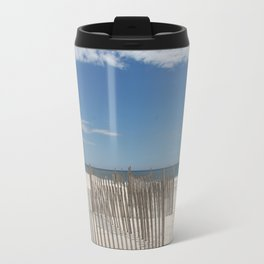Long Island Beach Travel Mug