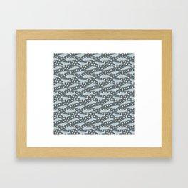seals and stars Framed Art Print