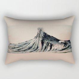 The WAVE #2 Rectangular Pillow