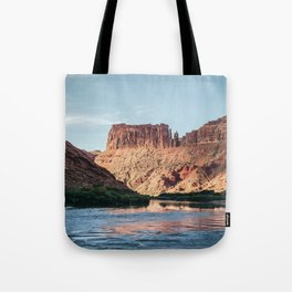 Cathedral Rocks on the River Tote Bag